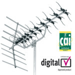 Outdoor TV Aerials - 27884D SLx 48 element aerial kit