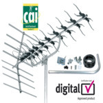 Outdoor TV Aerials - 27884 SLx 48 element aerial kit