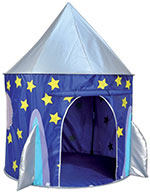 ViVo© Space Rocket Wizard Play Tent Playhouse Den Indoor or Outdoor Pop-up