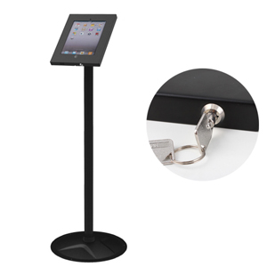 Anti-theft Floor Stand Case for iPad2/3/4