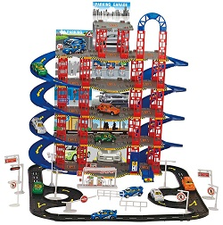 108pcs Parking Lot