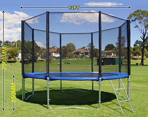 Puregadgets © Master Series Top Grade 12ft Trampoline Safety Net Enclosure Netting Replacement (Net Only)