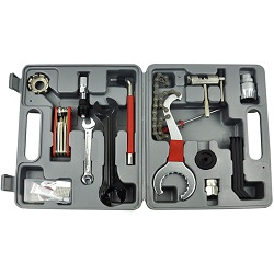 21PC Mountain Bike Bicycle Cycle Maintenance Repair Tool Kit Shimano Remover