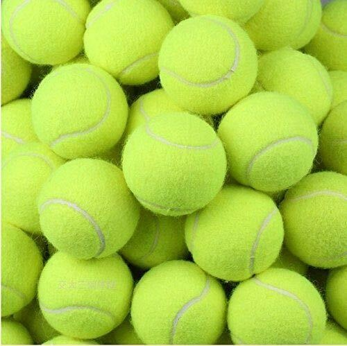 24 Tennis Balls Yellow Ball Games Dog Pet Toy Pets Bouncing Sports Games Fun Throw