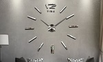 3D Modern Frameless Wall Clocks