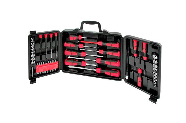 60pc Combination Screwdriver Set in Storage Case