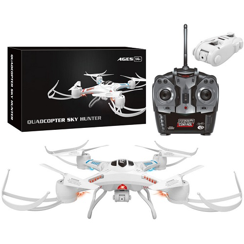 Quadcopter Sky Hunter Drone Helicopter 4 Blades RC Remote Control 6-Axis