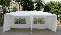 3M X 6M GARDEN GAZEBO TENT MARQUEE OUTDOOR WATERPROOF PARTY AWNING CANOPY NEW
