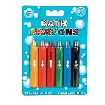 """BATH CRAYONS"" Crayons Markers Pencil Chalk"