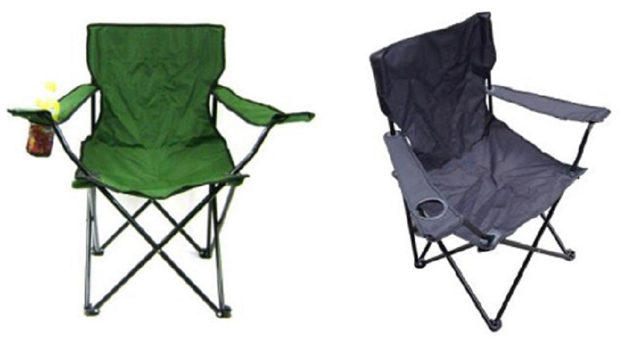 Camping Chairs with Cupholders