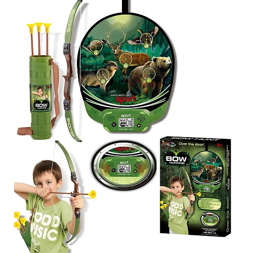 Vivo © Hunting Sport Crossbow / Archery Set Shooting Game with Target Arrows Kids Boys