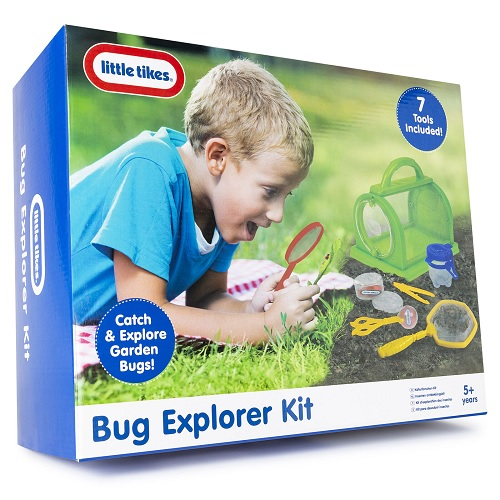 Little Tikes Children's Kids Garden Bug Insect Nature Explorer Kit Educational