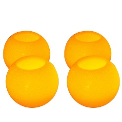 4 Smooth Round Flickering Flame LED Candles Flameless Wax Garden Xmas Wedding
