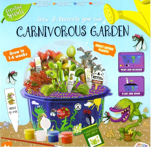 Creative Sprouts Grow Your Own Carnivorous Garden