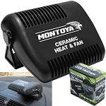12v Car Fan Heater Heating Windscreen Demister Defroster Windshield Screen Van