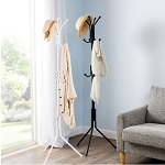 12 Hook Coat Hat Clothes Umbrella Stand Metal Steel Vintage Style Hanger Rack