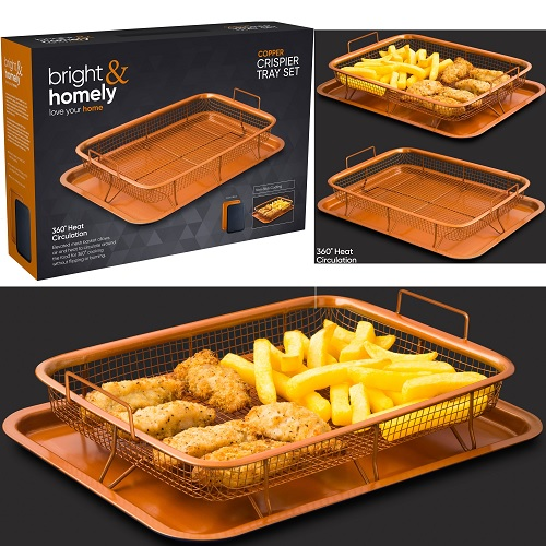 Copper Crisper Tray