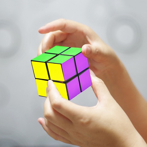 Magic Cube - Top Puzzle Toy this Xmas - Twist on Rubix Cube