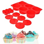 6 Filled Cupcake Baking Set