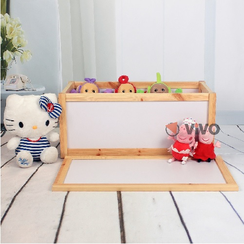 Wooden Toy Storage Unit Chest Box Childrens Toys Boxes Tidy Room Bedroom Xmas & Wooden Toy Storage Unit Chest Box Childrens Toys Boxes Tidy Room ...