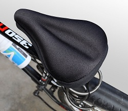 Bike Cycle Bicycle Mountain Racing Hybrid Soft Gel Seat Saddle Cover Cushion New