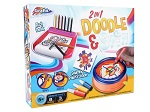 2 in 1 Doodle and Spin game