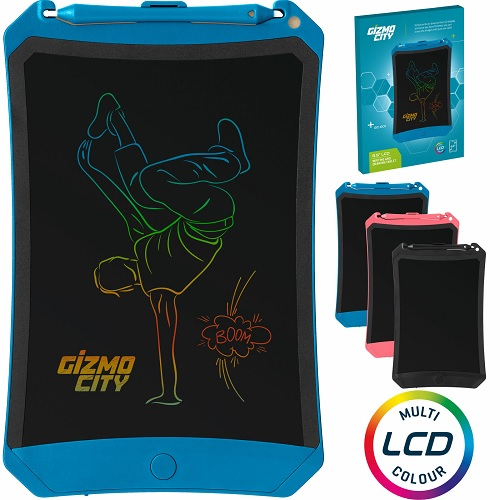 "Colour 8.5"" LCD Writing Tablet Robot Pad Digital Drawing Graphics Board Notepad"