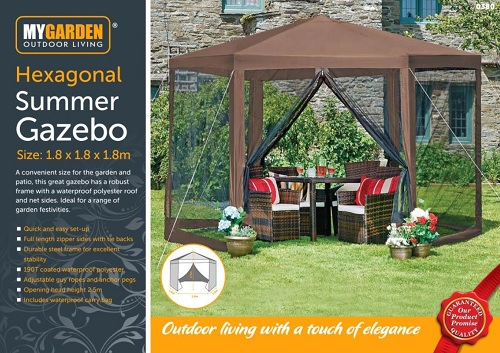Hexagonal Summer Gazebo