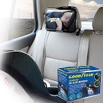 Goodyear Universal Baby Back Car Seat Safety Mirror for Viewing Baby Seat