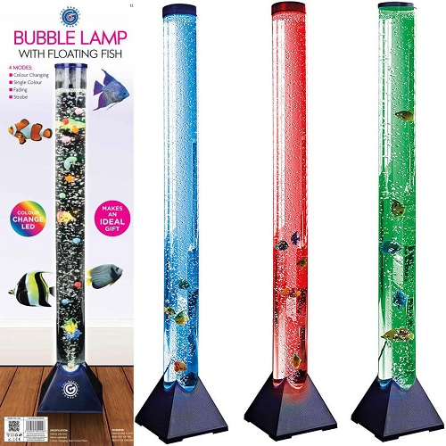 90cm Colour LED Bubble Water Fish Tank Large Lamp Tube Mood Light Changing