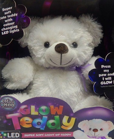 Miri Moo Light up Glow Teddy