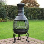 Add a review for: Outdoor Chiminea BBQ Heater