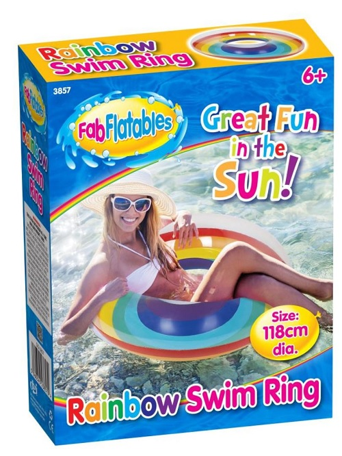 Large Inflatable Rainbow Ring