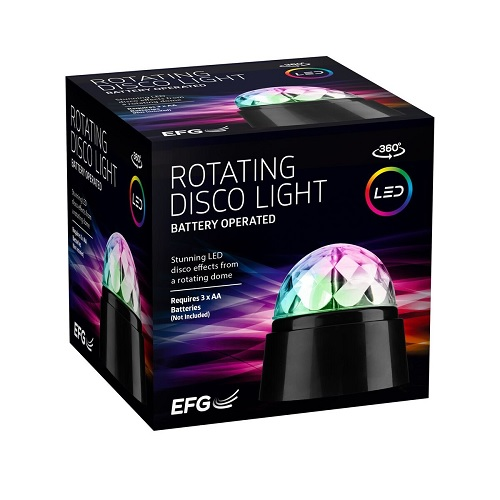 Rotating Disco lights for party and celebrations