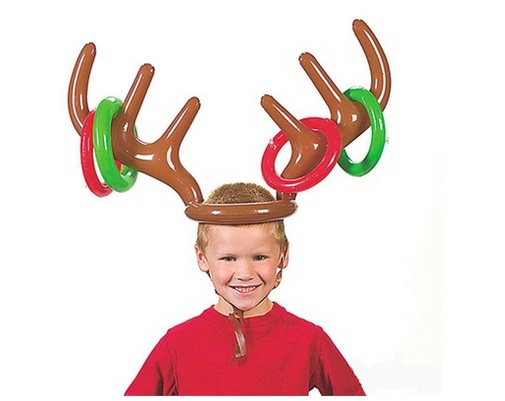 Christmas Reindeer Antler Ring Toss Games