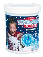 100g Tub of Instant Artificial Pretend Fake Snow Decoration - Makes 8 Litres