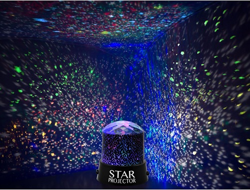 Star Projector Night Light Sky Moon Led Projector Mood Lamp Kids Bedroom New