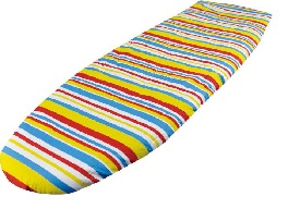 Stripes Fast Fit Elasticated Ironing Board Cover Easy Fit Non Slip Washable Cotton