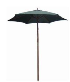 Redwood Leisure 2.1m Wooden Garden Umbrella