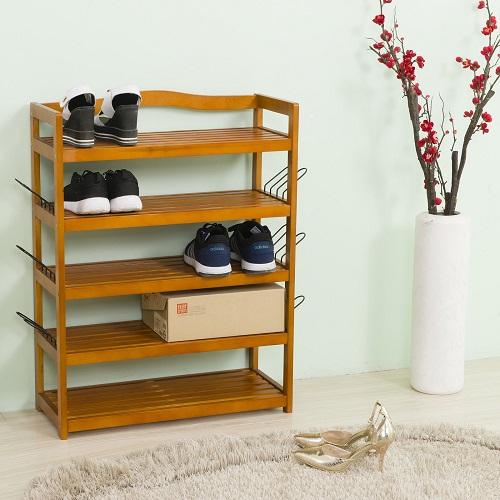 Wooden Shoe Cabinet Furniture. Wooden Shoe Storage Rack Organiser Shoes  Storing Furniture 5 Tier Wood