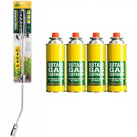 Add a review for: Weed Killer Remover Burner Wand with 4 Canister