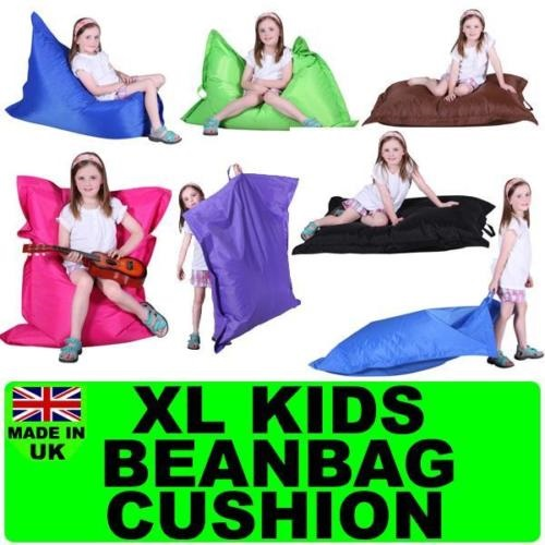 KIDS CHILDREN GIANT PILLOW BEANBAG CUSHION CHILD TEEN BEAN BAG SOFA GAMING